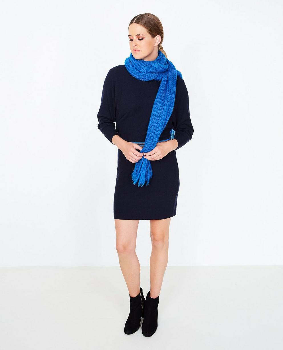 Robe en fin tricot - bleu nuit, Youh! - YOUH!